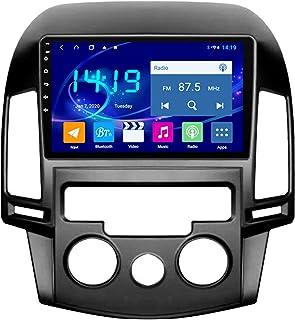 Flower Ager Android Autoradio Für Hyundai I30 2006 2011 Auto Radio Audio Bluetooth Touch MP5 Player USB FM Android Telefon Spiegel Link Entertainment Multimedia Stereo Mit SWC,Manual