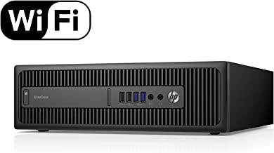 HP EliteDesk 800 G1 SFF i7-4770 3.40Ghz 16GB RAM 2TB HDD 240GB SSD Win 10 Pro (Renewed)