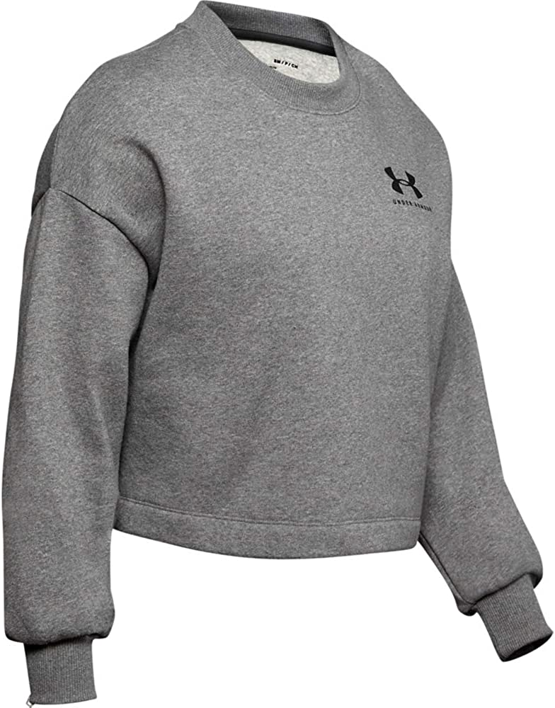 Under Armour Womens Rival Fleece Graphic Lc Crew