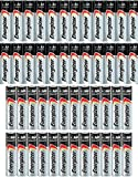 Combo 24x AA + 24x AAA Energizer Max Alkaline E91/E92 Batteries Made in USA Exp. 2023 or Later ((Bulk Packaging)