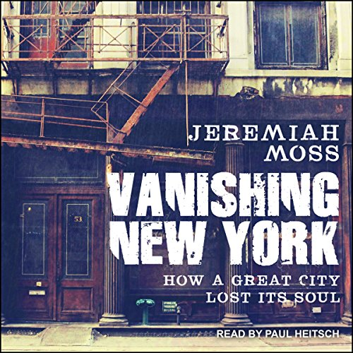 Vanishing New York audiobook cover art