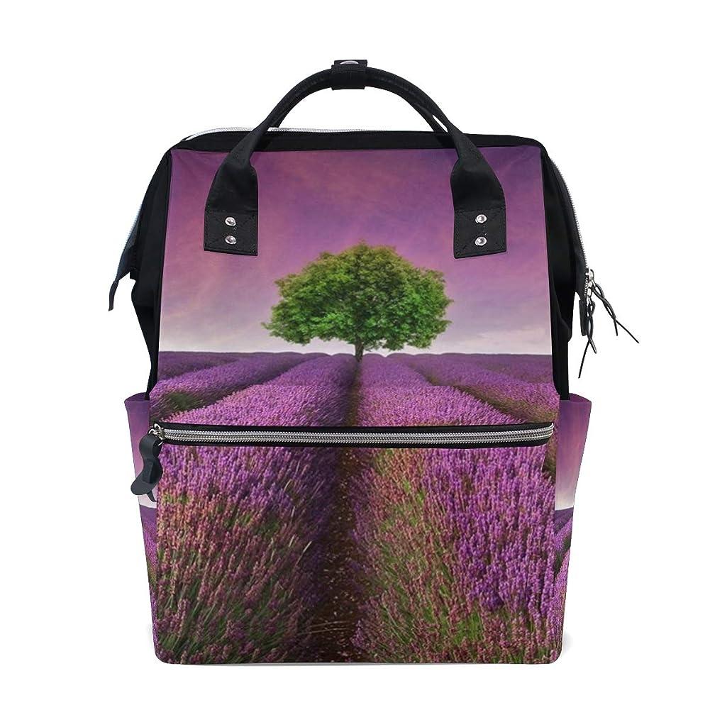 Lavender Purple Tree School Backpack Large Capacity Mummy Bags Laptop Handbag Casual Travel Rucksack Satchel For Women Men Adult Teen Children