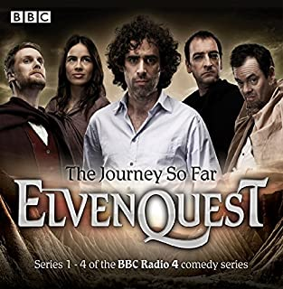 Elvenquest     The Journey So Far: Series 1,2,3 and 4              By:                                                                                                                                 Anil Gupta,                                                                                        Richard Pinto                               Narrated by:                                                                                                                                 Stephen Mangan,                                                                                        Alistair McGowan,                                                                                        Darren Boyd,                   and others                 Length: 11 hrs and 4 mins     433 ratings     Overall 4.7