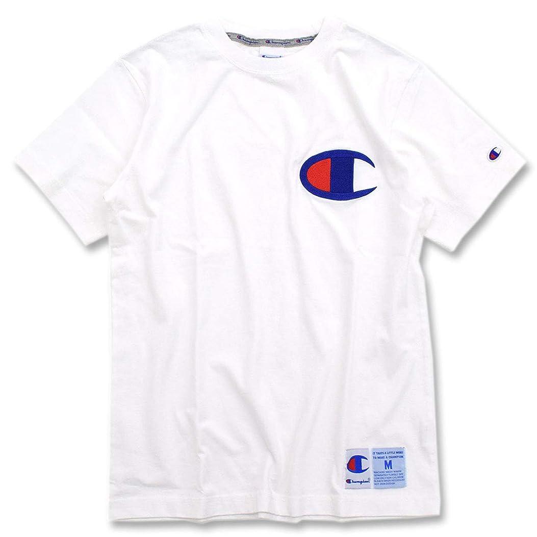 フレッシュ義務付けられた証明する[チャンピオン] Champion Tシャツ 半袖 メンズ C3-F362 サイズS ホワイト(010)