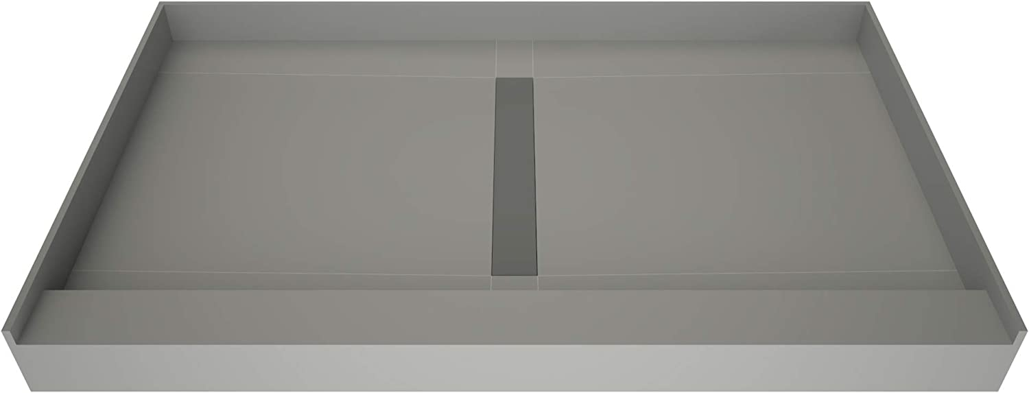 discount Tile Redi T3648C-SCTTBVZ Shower Pan Kit Center Dr Limited price sale Flashing with