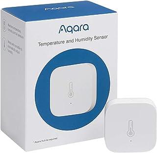 Aqara Temperatuur- en vochtigheidssensor, vereist Aqara hub, Zigbee, voor bewaking op afstand en Smart Home, draadloze hyg...