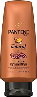 Pantene Pro-v Truly Natural Hair Co-wash, 17.7 Fl Oz, 1.58 Pound
