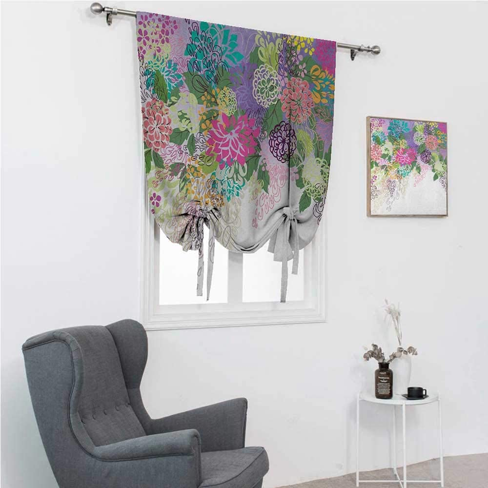 Financial sales sale GugeABC Roman Window Be super welcome Shades Flower Balloon Treatme