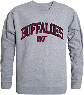 WTAMU West Texas A&M University Campus Crewneck Pullover Sweatshirt Sweater Heather Grey
