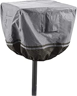 Park Style Barbecue Grill Cover for Large & Extra Large Grills, Universal