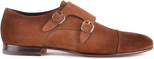 Santoni MCNC14851LA3NRDCT55 MCNC14851LA3NRDCT55 MCNC14851LA3NRDCT55 Herren Braun Wildleder Monk-Schuhe  bekannte Marke