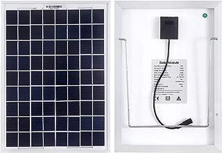 solar panel shower