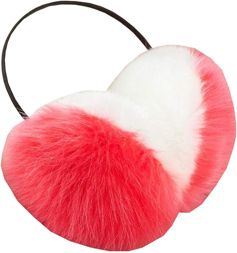 Cute Animal Soft Earmuffs Winter Warm Outdoor Ear Covers Headband Fur Ear warmer,#A14