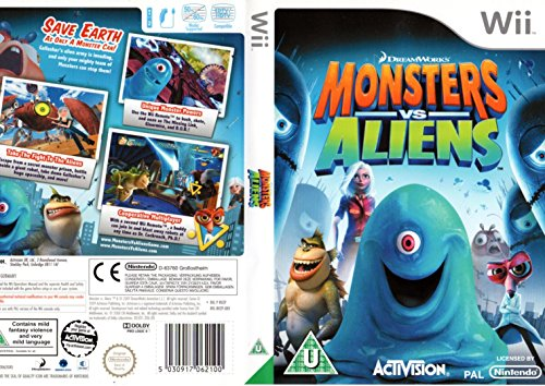 Monsters vs. Aliens (Wii) [import anglais]
