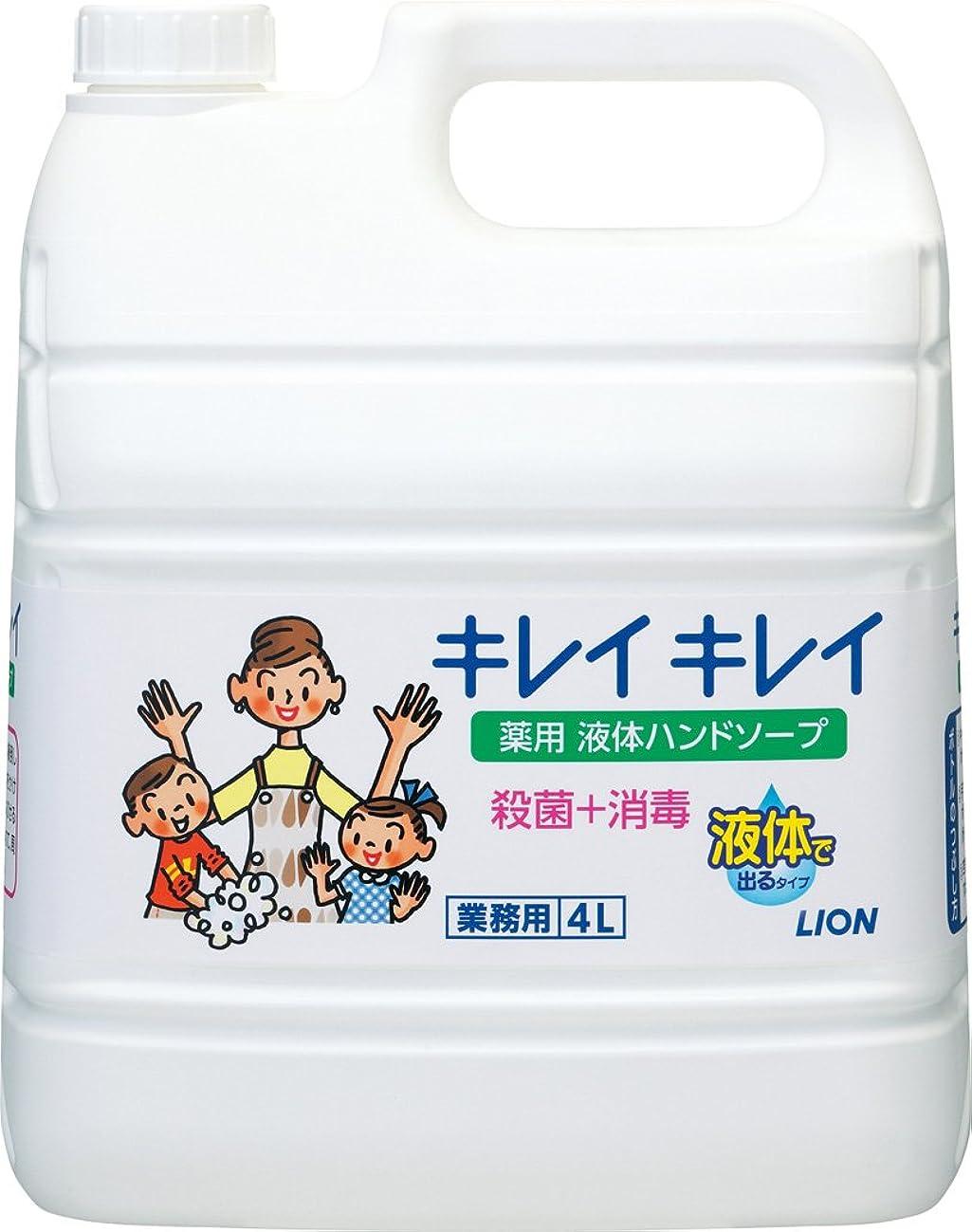 定数酔っ払い探検【業務用 大容量】キレイキレイ 薬用 ハンドソープ? 4L(医薬部外品)