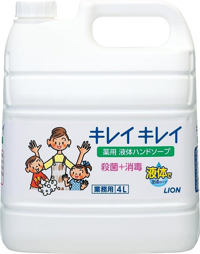 生じる田舎休眠【業務用 大容量】キレイキレイ 薬用 ハンドソープ? 4L(医薬部外品)