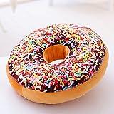 VERCART Coussin 3D Donut Oreiller Créatif pour Lit Canapé Fauteuil Jouet Peluche Décoratif...