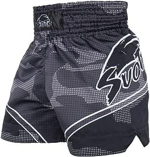 SUOTF MMA Tiger Muay Thai Boxing Match Sanda Training Breathable Shorts Muay Thai Clothing Boxing Tiger Muay Thai MMA