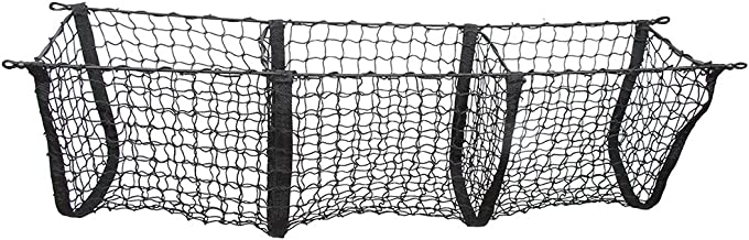 Black Three-Pocket Storage Cargo Net For JEEP CHEROKEE 2014 2015 2016 2017 2018 NEW POZEL