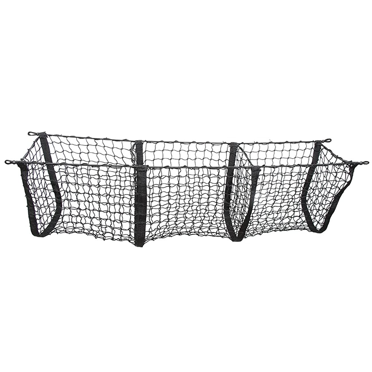 Black Three-Pocket Storage Cargo Net For NISSAN PATHFINDER 2013 14 15 2016 2017 2018