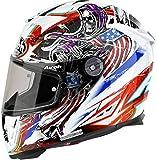 Airoh Helmet T600Grim White dekor Talla:M(57/58)