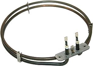 KgaSupplies Ventilador de cocina principal horno elemento para Logik LFTC50A12, LFTC60A12LFTC60W12