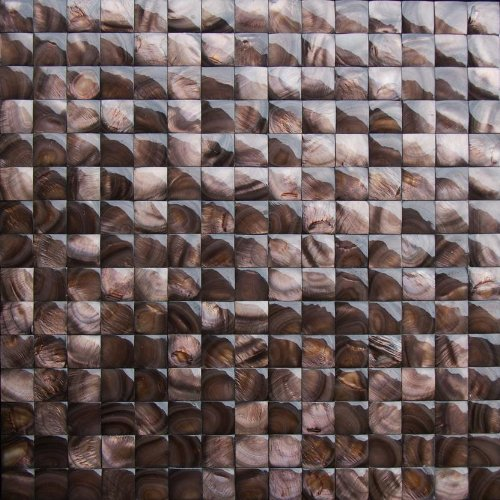 3d pearl shell groutless tile for kitchen backsplash bathroom walls