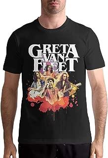 Greta Van Fleet T Shirt Mens Tops Comfortable Short Sleeve