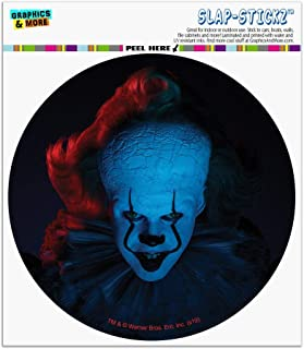 Graphics and More IT: Chapter 2 Blue Pennywise Automotive Car Window Locker Circle Bumper Sticker