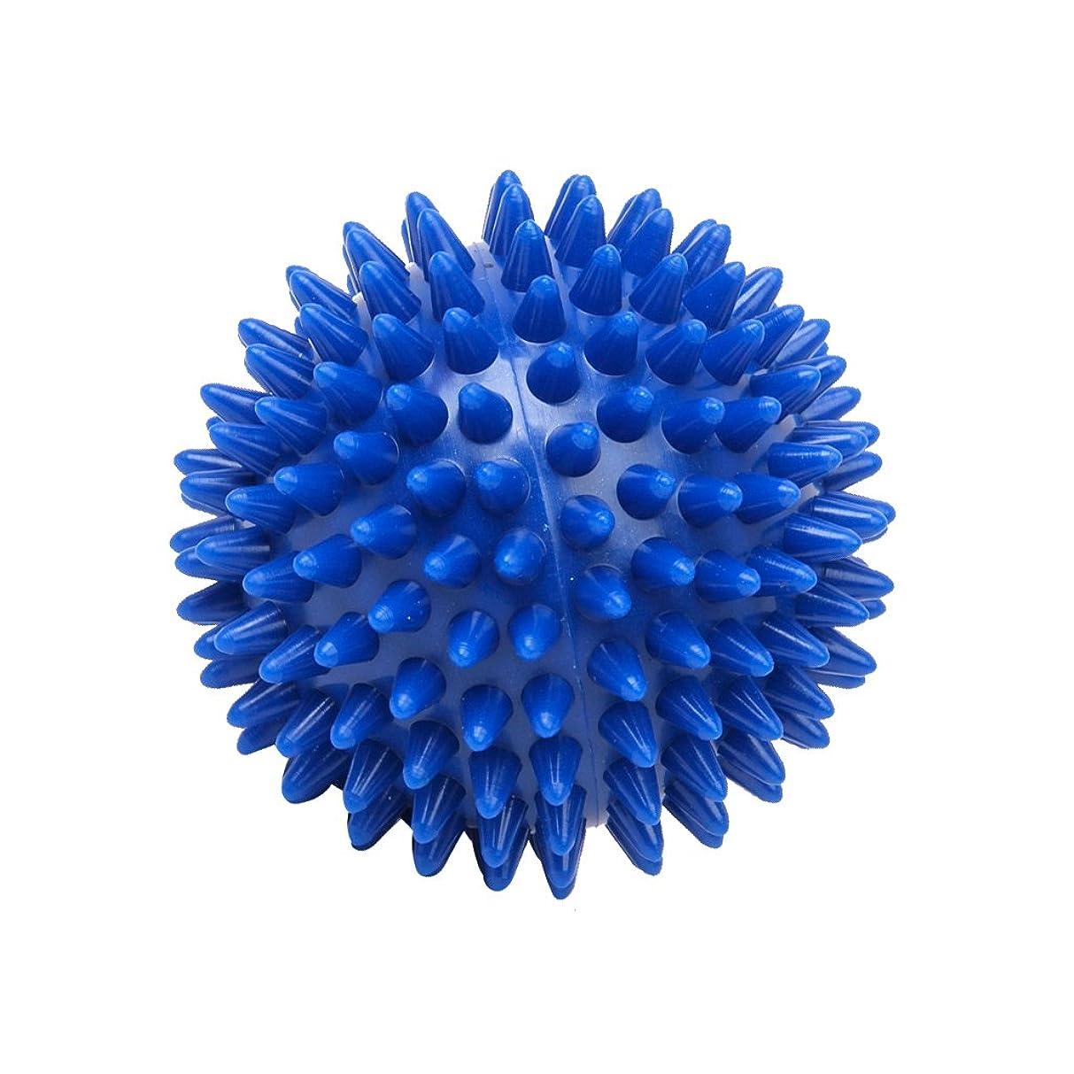 刑務所ロケーション日付付きFootful マッサージボール 健康グッズ 健康器具 血液循環促進 緊張緩和 7cm ブルー