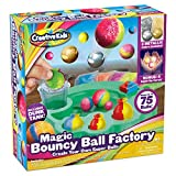 Make Your Own DIY Bouncy Ball Craft Kit for Kids - Create Your Own Metallic & Light-up CrystalBalls STEM Science Birthday Party Favors Projects for Boys & Girls - Makes Up to 75 Balls - Ages 6+