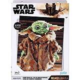 Perler 80-54391 The Mandalorian Baby Yoda Star Wars Fuse Bead Deluxe Box Kit, 4005