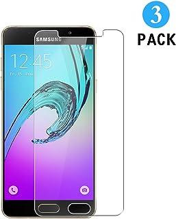 WEOFUN 3 Unidades Samsung Galaxy A5 2016 Protector de Pantalla, Cristal Templado para Samsung Galaxy A5 2016 Vidrio Templado Protector [0.33mm/ 9H Dureza/Alta Transparencia]