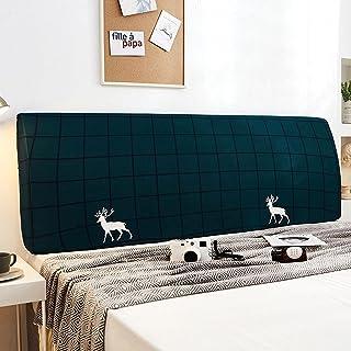 NHK-MX Funda de cabecero de Cama Elástica a Prueba de Polvo Protectora de Cabeceros de Cama Dibujos Animados Decoración de Dormitorio (Color : 20, Size : 220cm)