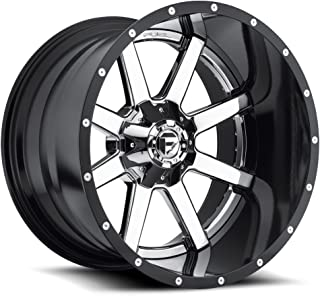 FUEL Maverick P -Chrome Wheel with Painted (24 x 14. inches /8 x 165 mm, -75 mm Offset)