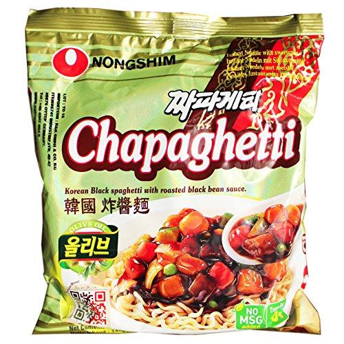 20x140g Nongshim Chapaghetti Koreanische Instant Nudeln mit schwarzer Bohnensauce