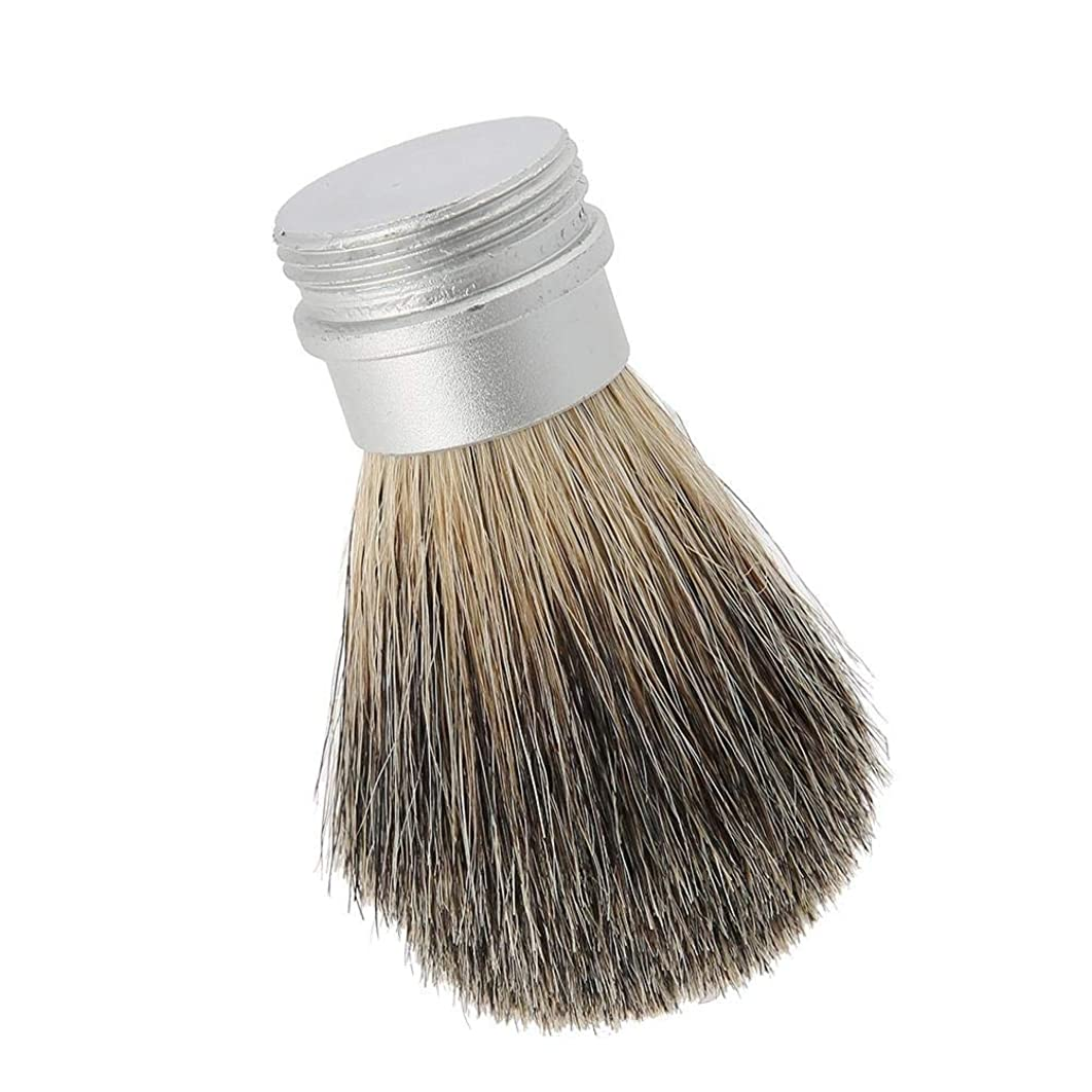 ハンサムガイド司法ひげブラシひげ剃りツールポータブルひげブラシ男性のための最高のヘアブラシ口ひげブラシ