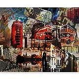 murando Papier peint intissé 250x193 cm Décoration Murale XXL Poster Tableaux Muraux Tapisserie Photo Trompe l'oeil London 10040904-60