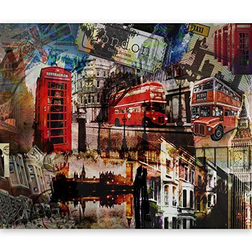 murando Papier peint intissé Décoration Murale XXL Poster Tableaux Muraux Tapisserie Photo Trompe l'oei 50x39London 10040904-60