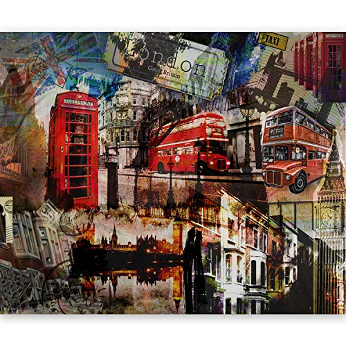 murando Papier peint intissé 200x154 cm Décoration Murale XXL Poster Tableaux Muraux Tapisserie Photo Trompe l'oeil -London 10040904-60