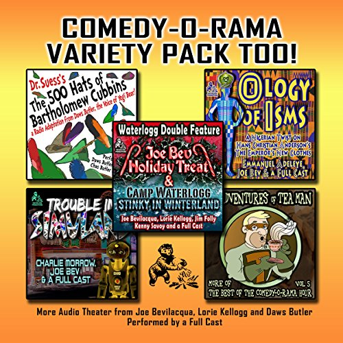 Comedy-O-Rama Variety Pack Too! copertina