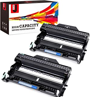 JetSir Compatible Replacement for Brother DR420 Drum Units 2-Pack,Use for TN450 Toner for Brother HL-2270DW HL-2280DW HL-2230 HL-2240 HL-2240D MFC-7860DW MFC-7360N DCP-7065DN Intellifax-2840 Printer