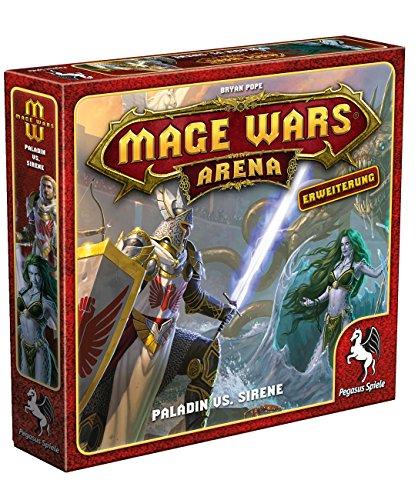 Pegasus Spiele 51874G - Mage Wars Arena Paladin vs. Sirene
