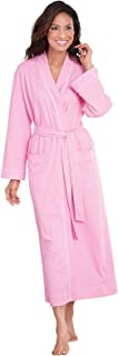 Image of Brushed Cotton Long Robe for Women - See More Colors