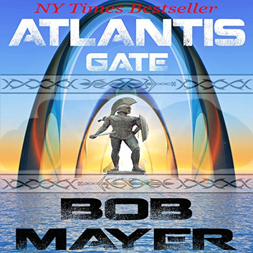 Atlantis Gate audiobook cover art