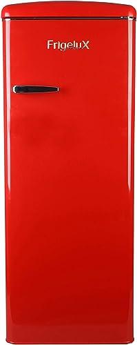 FrigeluX - Réfrigérateur Armoire Rétro RF218RRA++ - Réfrigérateur Congélateur 218L dont Congélateur 23L - Dégivrage A...