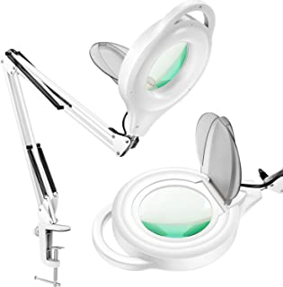 magnifier desk lamp with clamp