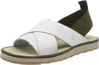 Fly London Men's Blak185fly Open Toe Sandals