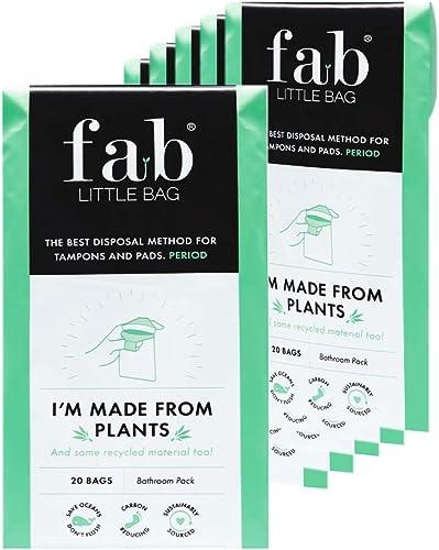 Sac poubelle pour produits hygiéniques Fab Little Bag - propre, retient les odeurs, écologique, hermétique, transport...