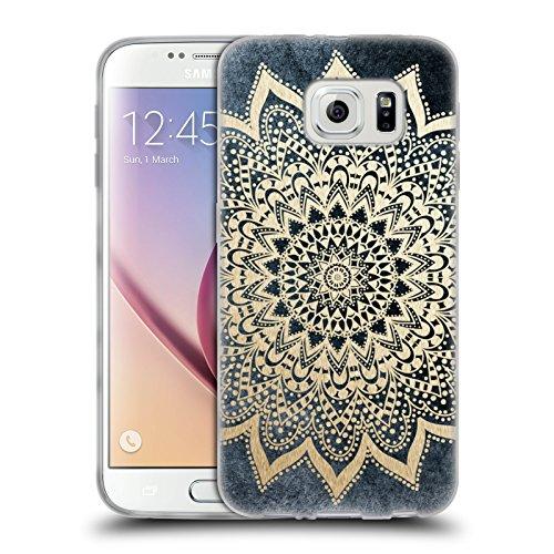 Head Case Designs Licenza Ufficiale Nika Martinez Boho Notte Mandala Cover in Morbido Gel Compatibile con Samsung Galaxy S6